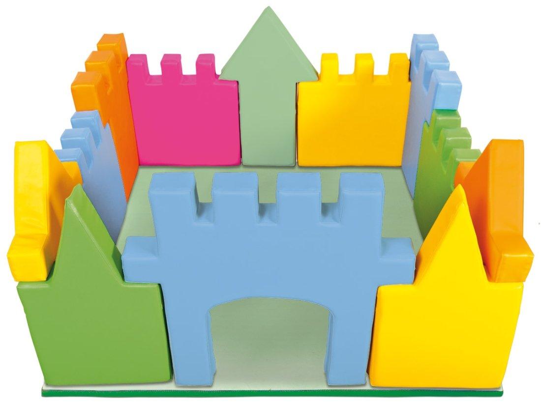 Burg Happy&Soft aus Schaumstoff mit Unterlage kaufen