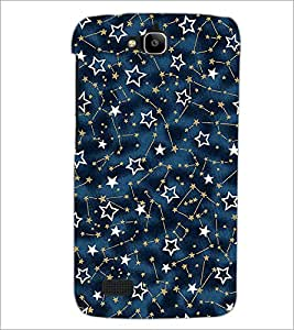 PrintDhaba Stars D-2070 Back Case Cover for HUAWEI HONOR HOLLY (Multi-Coloured)