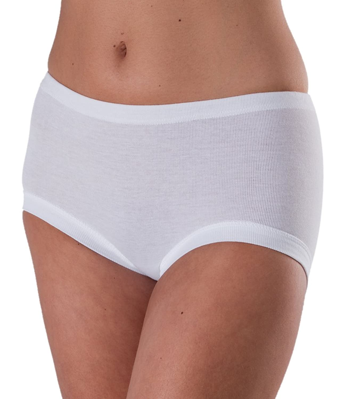 5x Conta Damen Taillenslip Weiss 100% Baumwolle Gr. 48 Slip, Unterhose, Schlüpfer online kaufen