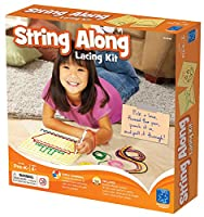 Educational Insights String-Along Lacing Kit by Educational Insights