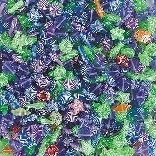 Coastal Beads 1/2-Lb (Bag of 590)