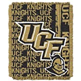 NCAA Central Florida Golden Knights 48 x 60-Inch Double Play Jacquard Triple Woven Throw