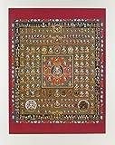 仏画ポスター 胎蔵界曼荼羅 81019