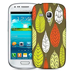 Snoogg Active Leaves Designer Protective Phone Back Case Cover For Samsung Galaxy S3 Mini