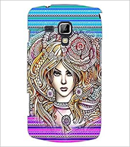 PrintDhaba Artwork D-4559 Back Case Cover for SAMSUNG GALAXY S DUOS S7562 (Multi-Coloured)