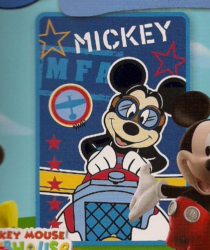 Disney Mickey Mouse Clubhouse Luxury Plush Throw front-102470