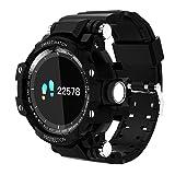 OLSUS IP67 Waterproof GW68 Smart Watch with Heart Rate Blood Pressure Monitoring - Black (Color: black)