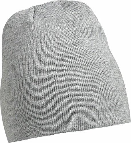 Berretto invernale Uomo Basic Beanies in grigio chiaro misto