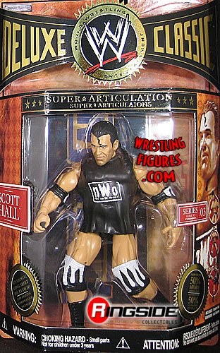 WWE SCOTT HALL - CLASSIC SUPERSTARS DELUXE 3 WWE TOY WRESTLING ACTION FIGURE at Sears.com