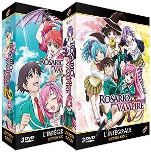 Rosario + Vampire - Saisons 1 et 2 - Edition Gold - 2 Coffrets (6 DVD + Livret)