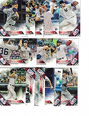 New York Yankees / Complete 2016 Topps Series 1 Baseball Team Set. FREE 2015 Topps Yankees Team Set WITH PURCHASE!