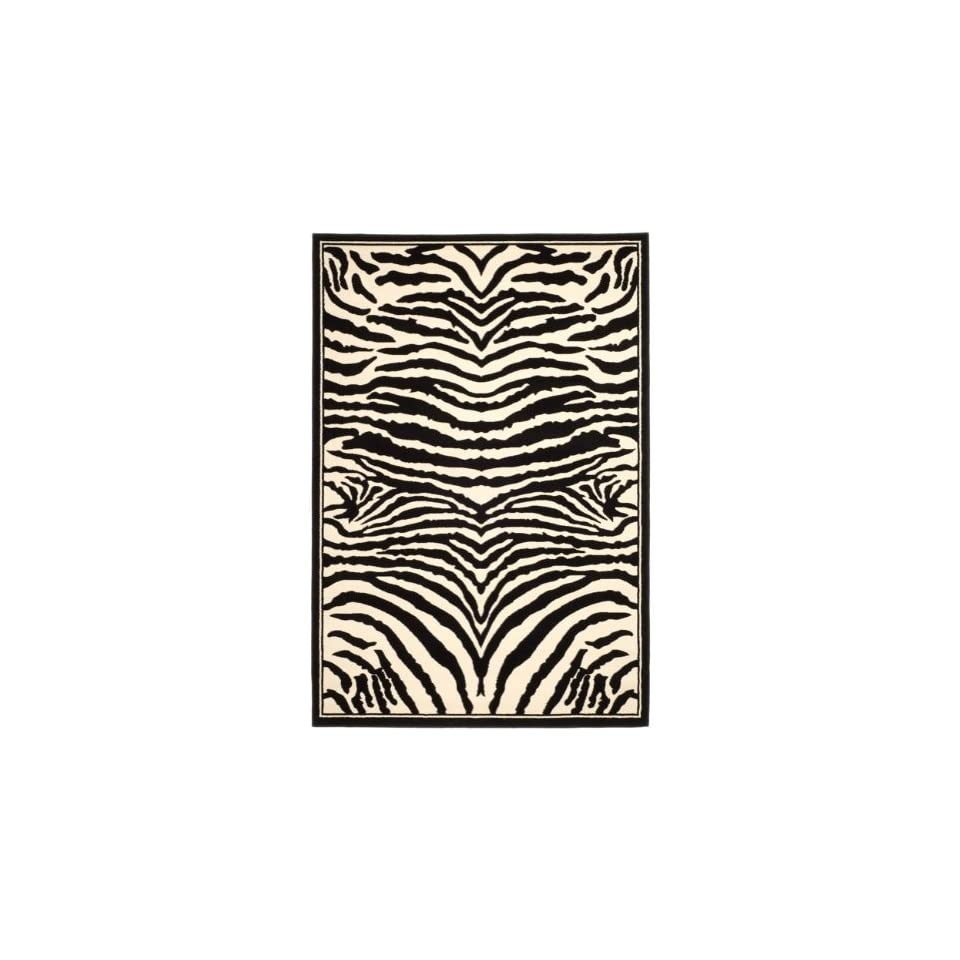 Safavieh Lyndhurst Collection LNH226A White and Black Area Rug (811 x 12)