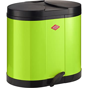 Wesco 170611 20 170 Poubelle De Tri Selectif Citron Vert 30 L