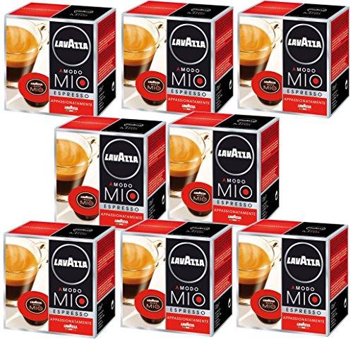 Choose Lavazza A Modo Mio Appassionatamente (Passionale), Pack of 8, 8 x 16 Capsules from Lavazza