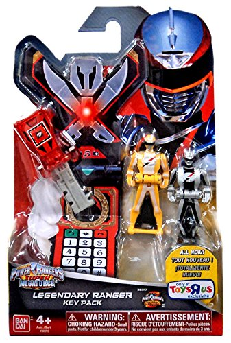 Power Rangers Super Megaforce - Operation Overdrive Legendary Ranger Key Pack, Red, Yellow, Silver (All Red Ranger Keys compare prices)