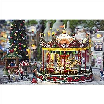 Lemax Christmas Village, Santa Carousel by Lemax