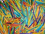 Creation Station Bag of 1000 Coloured Matchsticks Assorted Colours