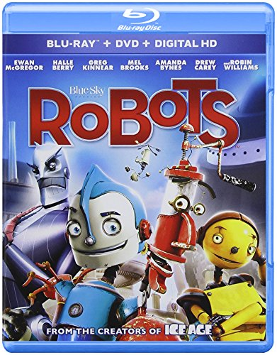 Blu-ray : Robots (Pan & Scan, With Movie Cash)