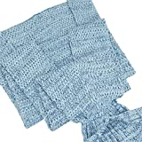 YiZYiF-Meerjungfrau-Decke-Handgemachte-Schwanz-flosse-Strickdecke-Blanket-Sofa-Schlafdecke-fr-Damen-Baby-und-Mdchen-Fr-Erwachsene-Blau-Stil-3