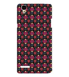 EPICCASE flowery knots Mobile Back Case Cover For Oppo F1 (Designer Case)