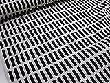 1m単位 北欧風(アルテック風)カラフル格子 ブラック黒 オックス生地 γ|かわいい |安い|服地| ソーイング