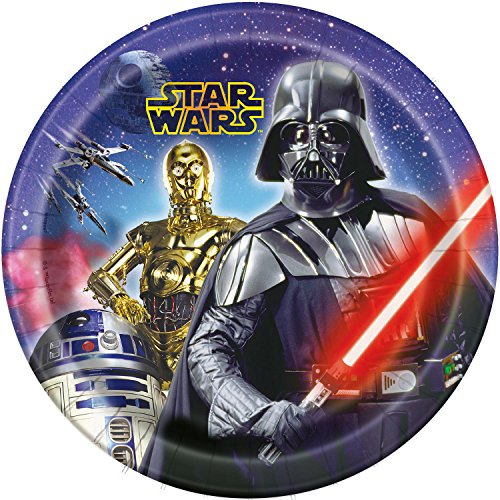 Star Wars 9 Inch Paper Plates [8 Per Pack]
