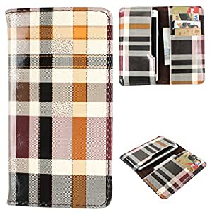 DooDa PU Leather Case Cover With Card Slots For Videocon A55Q HD