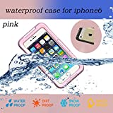 Nancys Shop Iphone 6 Waterproof Case,waterproof Shockproof Dustproof Snowproof Protective Case Cover for Iphone 6 (4.7 Inch) (2 - Pink Nancys Shop Iphone 6 Waterproof Case)
