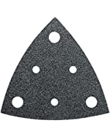 Fein Feuille abrasive triangulaire Perforée Grain P 80 (Import Allemagne)
