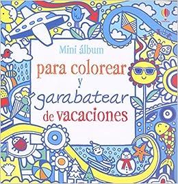 Mini álbum para colorear y garabatear de vacaciones: James Maclaine