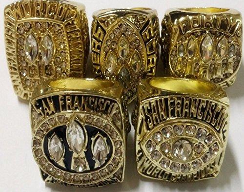 san-francisco-49ers-super-bowl-ring-set-1981-1984-1988-1989-1994-complete-set-joe-montana-steve-youn