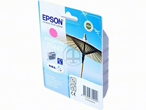 Epson Stylus C 86 (T0443 / C 13 T 04434010) - original - Inkcartridge magenta - 420 Pages - 13ml