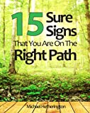 img - for 15 Sure Signs That You Are On The Right Path book / textbook / text book