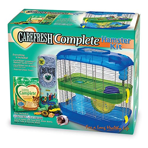Ware Manufacturing Critter Universe Carefresh Hamster Cage Kit 61d9IvsfpgL