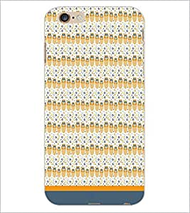 PrintDhaba Owl Pattern D-1669 Back Case Cover for APPLE IPHONE 6 PLUS (Multi-Coloured)