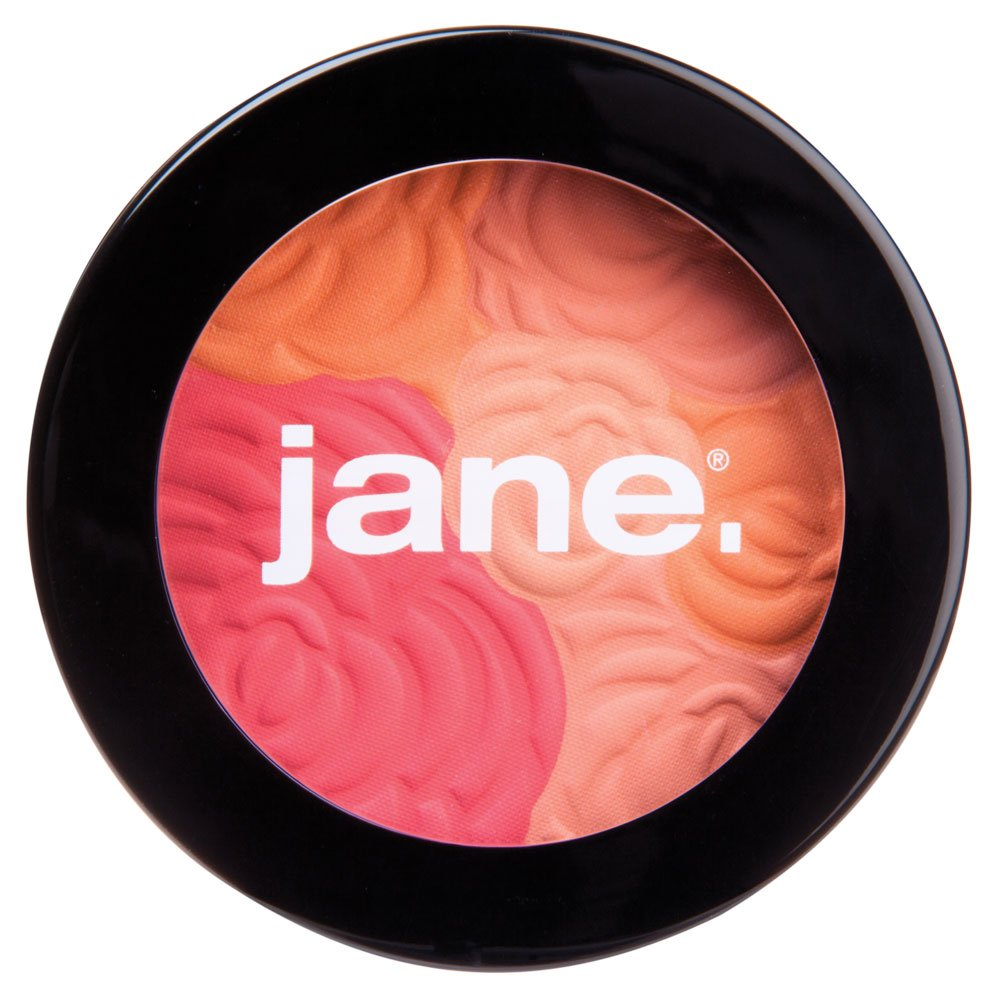 Jane Cosmetics Multi-Colored Cheek Powder, Peach Bouquet, 288 Ounce