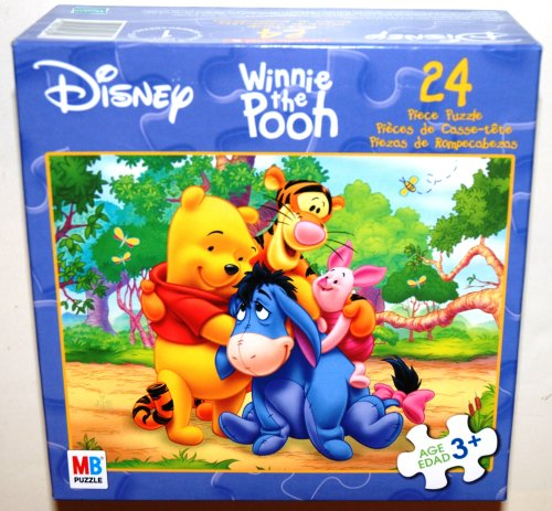 Disney Winnie and Friends, 24 Piece Jigsaw Puzzle, Group Hug (1 Each)