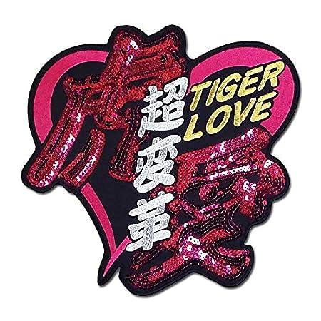 【プロ野球 阪神タイガースグッズ】超変革(虎愛スパンコール)ワッペン・スパンコールピンク
