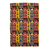 V&A 'Houses' Tea Towel||||RF20F||EVAEX