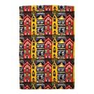 V&A 'Houses' Tea Towel||||RF20F