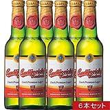【チェコ お土産】チェコ バドバービール6本セット(チェコ ビール)