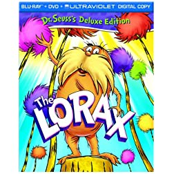 The Lorax (Two-Disc Blu-ray/DVD Combo + UltraViolet Digital Copy)