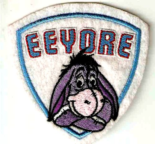 EEYORE the Donkey in Winnie the Pooh Disney Embroidered