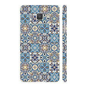 Enthopia Designer Hardshell Case Top Tiles Back Cover for Samsung Galaxy A8