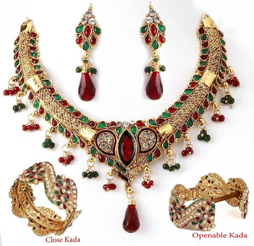 Sharnam Art Jewellery Necklace set 6698-90242