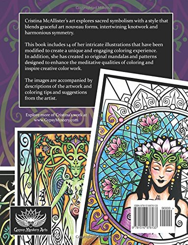 Sacred Beauty: An Artful Coloring Book
