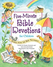 Five-Minute Bible Devotions for Children: New Testament