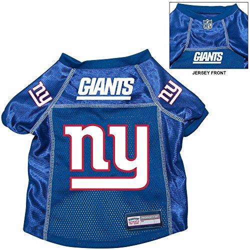 New York Giants Premium  Pet Dog Alternate Jersey w/ Name