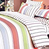 Blancho Bedding - [Young Dream] 100% Cotton 4PC Comforter Cover/Duvet Cover ....