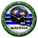 NFL Baltimore Ravens Game Clock